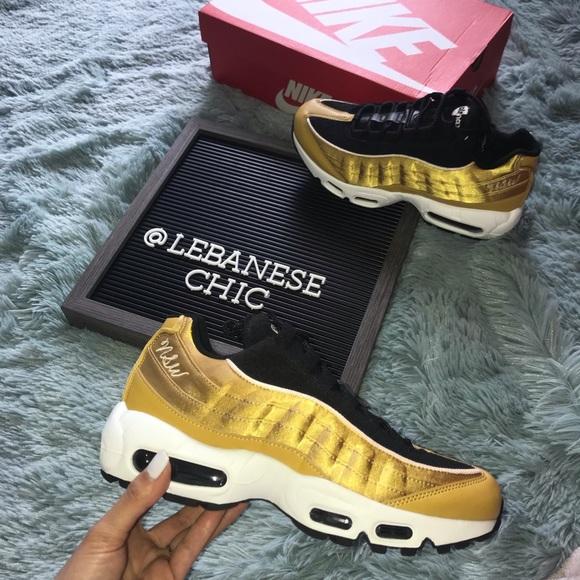 air max 95 black and gold